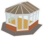 Victorian Style Conservatory - Conservatories in Huddersfield