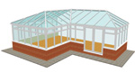 P Shape Conservatory - Conservatories in Huddersfield